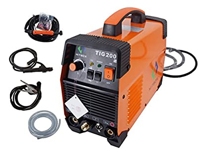 200 amp Portable TIG Welding Machine High Frequency 220V TIG MMA 200 with TIG Stick IGBT Inverter Welder
