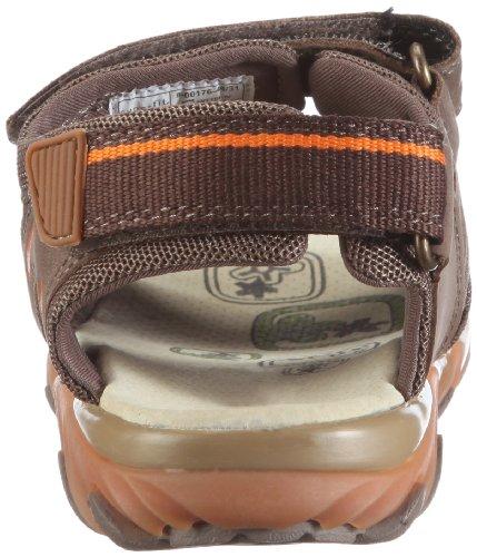 Superfit Mike 80017644 - Sandalias de cuero nobuck para niño Marrón