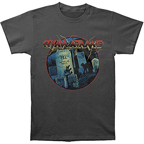 Ryan Adams Men's Graveyard Slim Fit T-shirt Large Charcoal (Adam Tee)