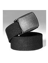 Lanbter Tactical Adjustable Survival Solid Nylon Outdoor Waist Belt Belts