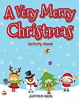 Very Merry Christmas Activity Book ebook product image