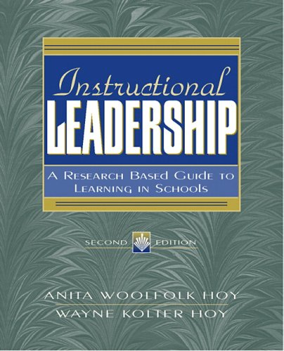 instructional leadership a research based guide to learning in schools