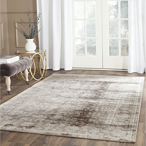 Safavieh Vintage Collection VTG430B Transitional Oriental Brown and Ivory Distressed Area Rug (3