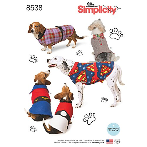 Simplicity Creative Patterns US8538A Sewing Pattern Crafts, Small/Medium/Large