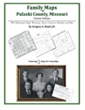 Family Maps of Pulaski County, Missouri