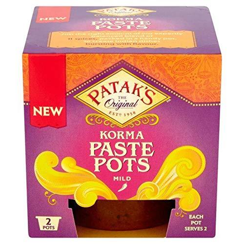 Patak's Korma Curry Paste Pot - 2 x 70g