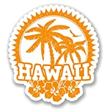 2 x Hawaii Travel Luggage Stickers