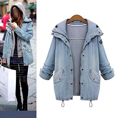 Fanmuran Abrigo de Mujer Más el tamaño de invierno de las mujeres de moda  de algodón 74f3e76d9831