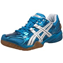Asics Womens Gel-Domain 2 Indoor Court Shoes Diva Blue/White/Diva Blue - size 9