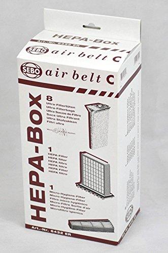 SEBO Vacuum HEPA Service Box (Sebo Hepa Vacuum)