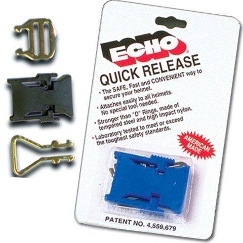 M2005 Snell Helmet - Echo Helmet Quick Release Ea/Quick 3/4