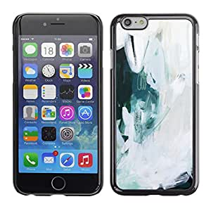 For Apple iPhone 6 Plus(5.5 inches)Case , Art Painting Snow Oil Ice - Diseño Patrón Teléfono Caso Cubierta Case Bumper Duro Protección Case Cover Funda