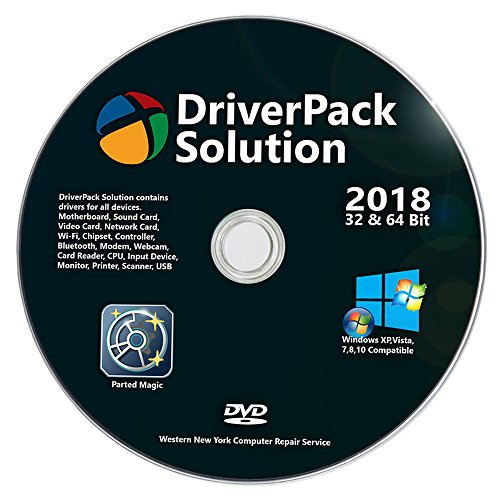 Universal Offline Automatic Complete Device Driver Install DVD For Windows 7, XP, 8, Vista, 8.1, Win 10 Supports HP Dell Toshiba Sony Acer Asus Lenovo Compaq IBM eMachines Gateway, by Western Computer ()
