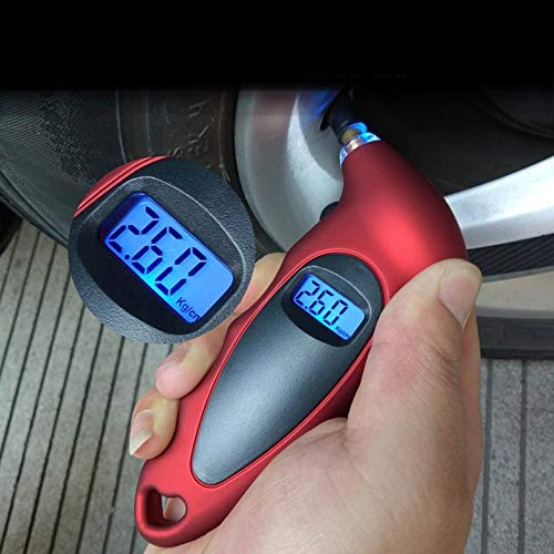 Turobayuusaku Digital Tire Pressure Gauge 150 PSI 4 Setting Tire Gauge for Car Truck Bicycle