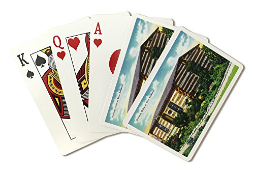 of T. Roosevelt's Badlands Cabin in the Park (Playing Card Deck - 52 Card Poker Size with Jokers) (Roosevelt Cabin)