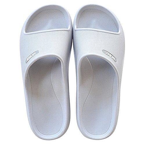ZZHF Bath Slippers Non-Slip Home Slippers Couple Indoor Cool Slippers Home Bathroom Slippers (6 Colors Optional) (Size Optional) Slippers E X1lYK