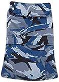 Casual Canine Camo Barn Pet Coat, Medium, Blue For Sale