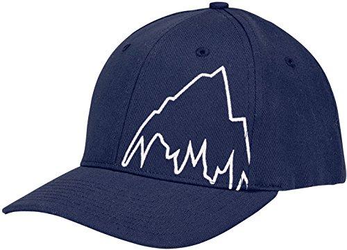 Burton Visor Beanie (Burton Boys' Mountain Slide Style Hat, Indigo, One Size)