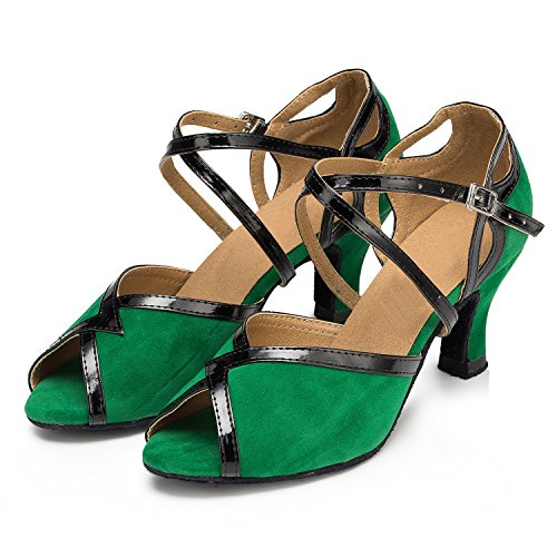 Donna 6cm Heel Miyoopark Green Ballroom 4OwBxBqP1