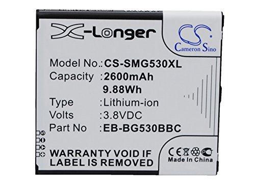Cameron Sino 2600mAh / 9.88Wh Replacement Battery for Samsung Galaxy Gran Prime Duos TV - Gran Duo