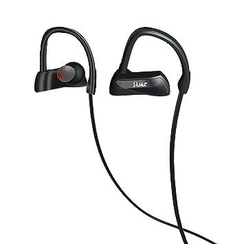 Bluetooth impermeable headphones-jaz (2017 Nuevo diseño mejor inalámbrico auriculares deportivos con micrófono,