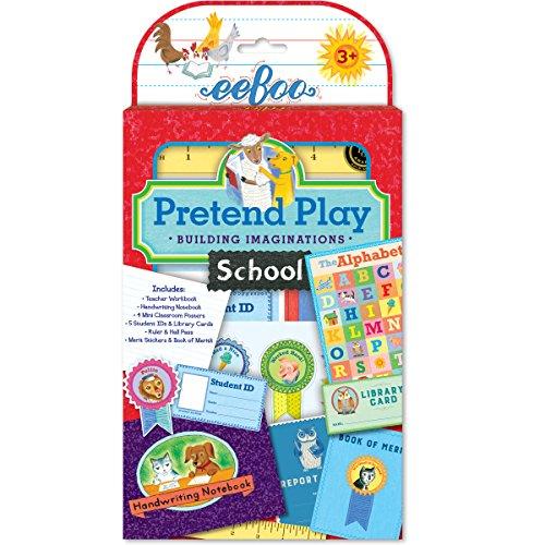 Review eeBoo Pretend Play, School