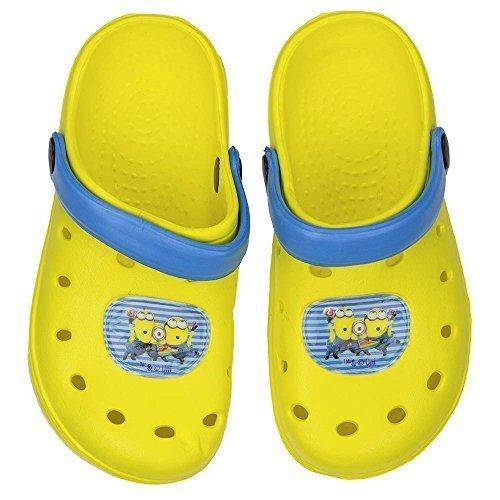 48d38b4e5 Minions Zuecos Zapatillas baño Sandalias amarillo Talla 24 - 35 - amarillo