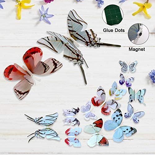 ForTomorrow Butterfly Butterflies Stickers Removable
