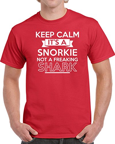 Keep Calm It's A Shorkie Not A Freaking Shark Unisex T-shirt