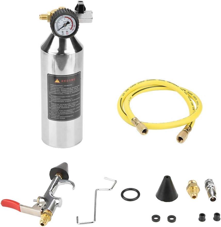 Gancon Kit de Pistola de Cartucho de Descarga del Sistema de Aire Acondicionado de 1 litro para r12 r134a r404 y r22 A/C System