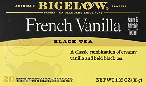 (Bigelow , French Vanilla , Black Tea , 3 X 20 Tea Bags , Pack of 3)