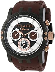 MULCO Mens MW3-11169-035 Lincoln Illusion Chronograph Analog Swiss Movement Watch