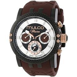MULCO Men's MW3-11169-035 Lincoln Illusion Chronograph Analog Swiss Movement Watch