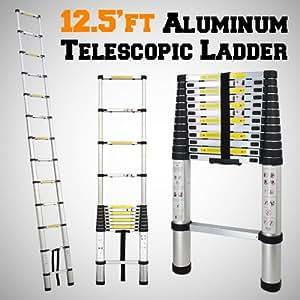 Gothobby 12 5 Ft Portable Aluminum Telescopic Telescoping