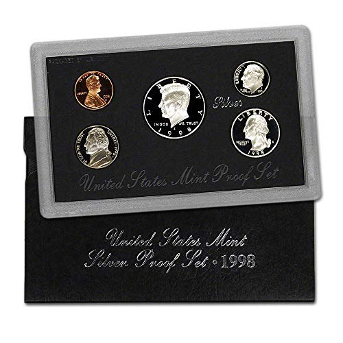1998 S United States Mint Silver Proof Set Proof ()