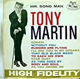 TONY MARTIN MR. SONG MAN vinyl record