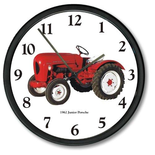 New Vintage 1962 Junior Porsche Tractor Wall Clock (Porsche Clock)