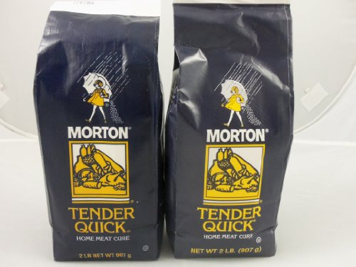 Morton Tender Quick Meat Cure 2 pound (2 pack) (Best Smoked Fish Brine)