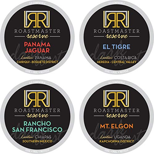 Roastmaster Reserve Coffee Pods