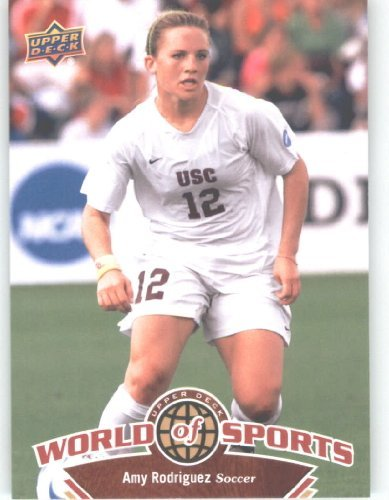 (2010 Upper Deck World of Sports #115 Amy Rodriguez/Women's Soccer Cards/Trojans /)