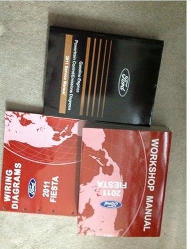 51NMgDJ27lL._SX380_BO1204203200_ 2011 ford fiesta service shop repair manual factory book dealership