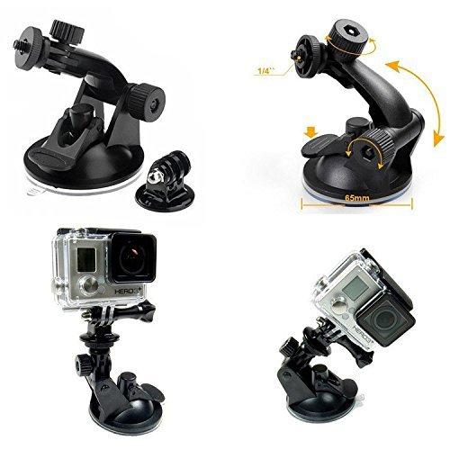 Ultimaxx Suction Cup for Gopro 5,