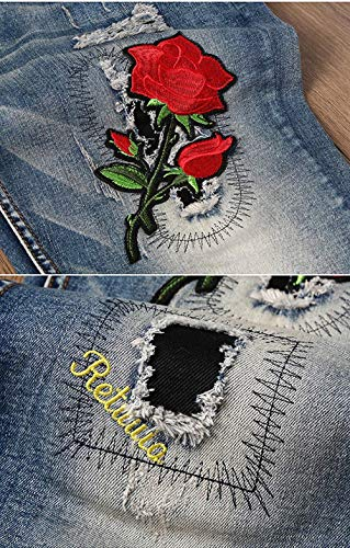Cinturino Slim Fit Casual Uomo Skinny Senza Di Jeans Midi Regular Da Pantaloni Stretch Dritti 3 Moderna 6fxqWftYdw