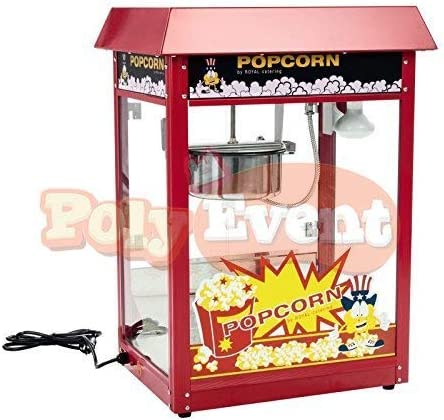 Poly Event cafetera Pop Corn profesional sin mueble 1600 Watts ...