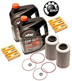SeaDoo Oil Change Kit W/Filter O Rings & Spark Plugs RXPX RXTX GTX 300 2 Pack