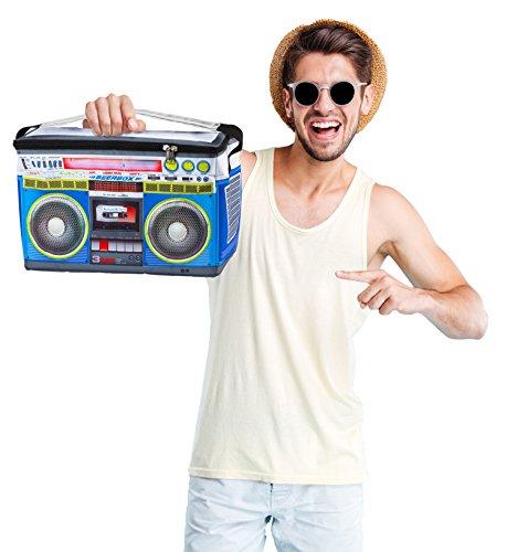 BigMouth Inc Boom Box Beverage Cooler Bag, Insulated Drink Holder, Holds 12 Cans, Novelty Cooler