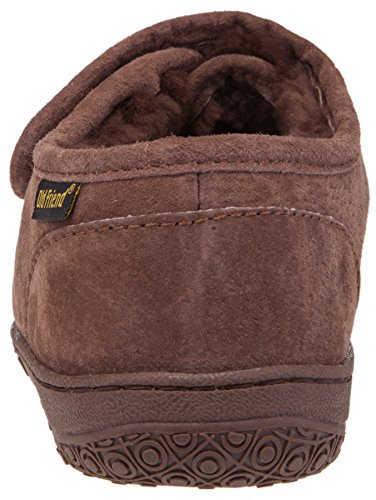 Alter Freund Men's Adjustable Strap Slipper Schokolade
