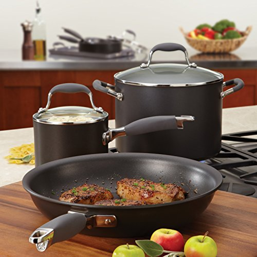 Anolon Advanced Hard Anodized Nonstick 10-Inch and 12-Inch Skillets Twin Pack by Anolon (Image #8)