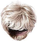 Hairdo Hairuwear Raquel Welch Go for It Collection Boy Cut Short Hair Wig with Longer Layers, R119g Gradient Smoke
