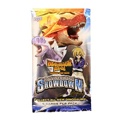 Upper Deck Dinosaur King Trading Card Game Series 5 Dinotector Showdown Booster Pack: Toys & Games